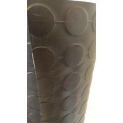 Gumiszőnyeg pöttyös 4mm vastag, 123cm széles