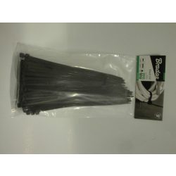 Kábelkötegelő 4,8*200mm fekete