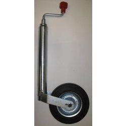 Utánfutó tekerősláb kerékkel 48/600