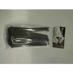 Kábelkötegelő 3,6*200mm fekete