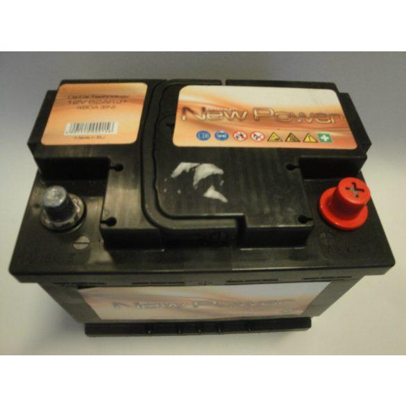 Akkumulátor 62ah 480A NewPower