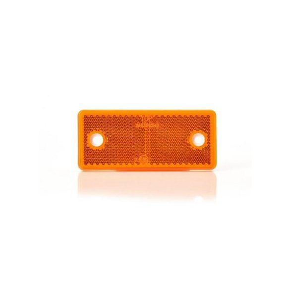 Prizma 96*42mm sárga fúrt