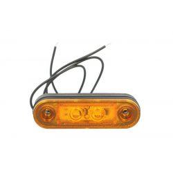 Helyzetjelző lámpa led sárga oldalra (beülős)