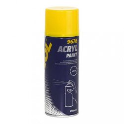 Mannol akril ezüst festék spray 450ml 9676