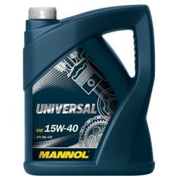 Mannol motorolaj 15W40 Universal 5L