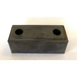 Ütköző hátsó gumi 150*60*60mm