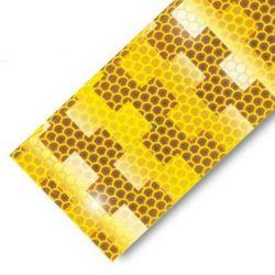 Fényvisszaverő csík 5cm sárga