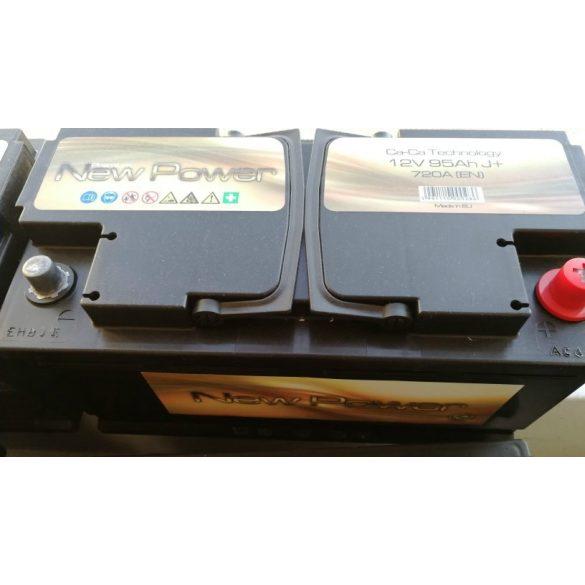 Akkumulátor 95Ah 720A NewPower