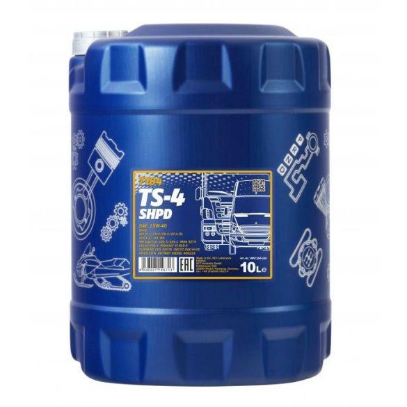 Mannol motorolaj TS-4 15w40 10L