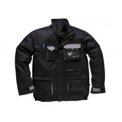 Munkáskabát több zsebes fekete XL