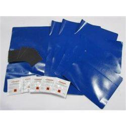 Ponyva folt kék (6db+ragasztó)