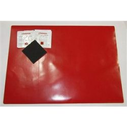 Ponyva folt piros 45*32cm