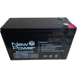 Akku szünetmentes 12V 9AH New Power