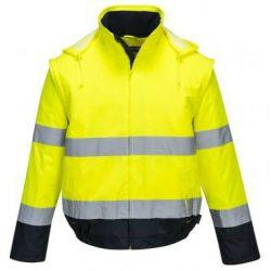 Kabát 2 in 1 - sárga