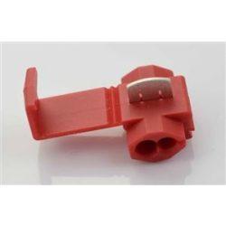 Vezeték összekötő roppantós piros 0,25-1,0mm