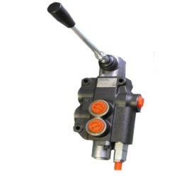 Hidraulika vezérlőtömb egy karos