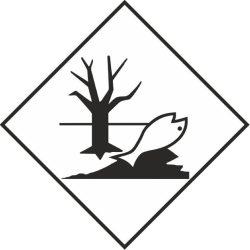 Matrica Adr vízi környezetre veszélyes 25*25cm