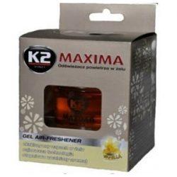 Illatosító zseléstégely 50ml K2 Vanilia