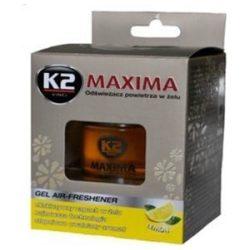 Illatosító zseléstégely 50ml K2 Citrom
