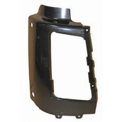 Jobb első lökhárító lámpakeret fekete Volvo