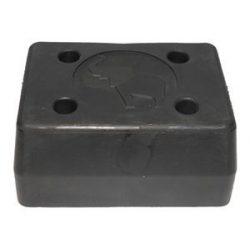 Ütköző hátsó gumi 152*123*75mm Schmitz