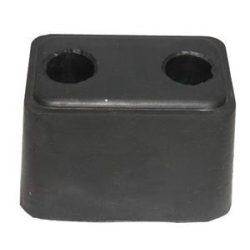 Ütköző hátsó gumi 125*85*85mm