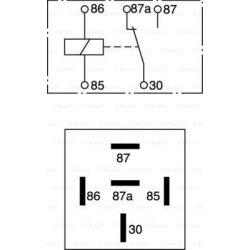 Bosch Relé 24V 5láb