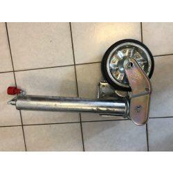 Utánfutó tekerősláb kerékkel 60-as 500kg automata