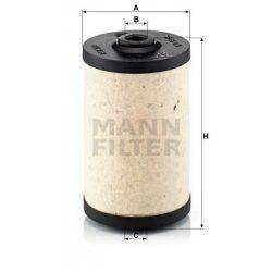 Mann üzemanyagszűrő BFU700X