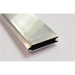 Oldalléc aluminium l-3300mm