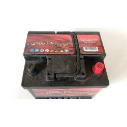 Akkumulátor 45ah 360A New Power piros